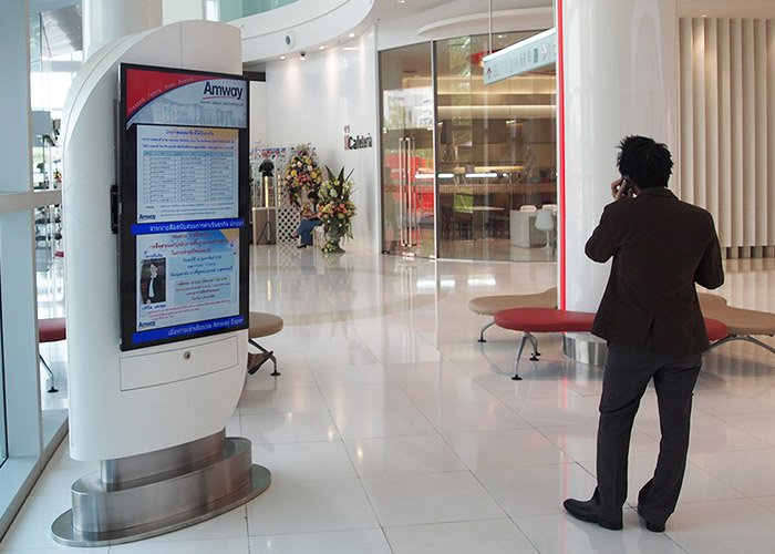 Corporate Digital Signage at Amway, Tailandia