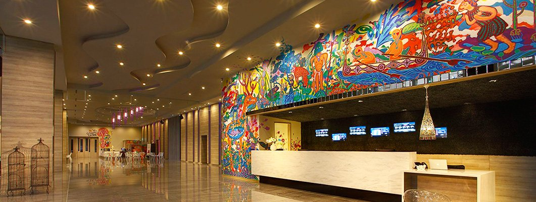 Hospitality Digital Signage at Freedom Design Hotel, Taiwan