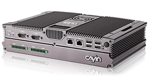 Front view of Digital Signage Server CMS-40