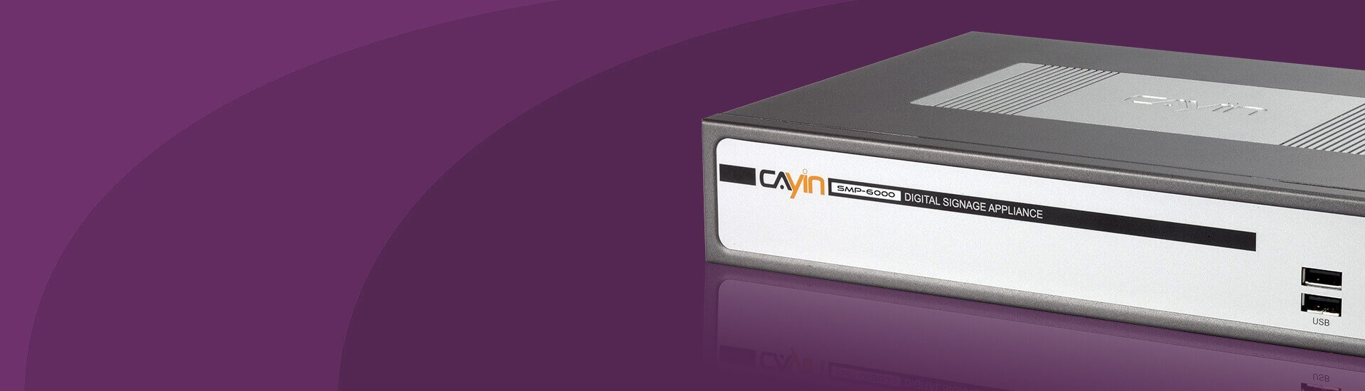 SMP-6000 Versatile Digital Signage Player with AV-in