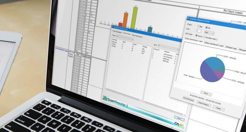 數位看板廣告計費報表製作與效能分析
